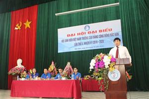 Đại hội đại biểu Hội Sinh viên trường Cao đẳng Cộng đồng Bắc Kạn lần thứ V
