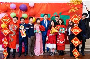 Rộn ràng sắc xuân 2018 với Hội Sinh viên Việt Nam tại Anh (SVUK)