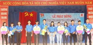 Bình Phước: Chiến sỹ Hoa phượng đỏ xung kích tình nguyện, rèn luyện trưởng thành