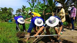 Liên Chi hội Sinh viên Sóc Trăng: Dấu chân tình nguyện