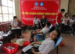 Sinh viên trường Đại học Tiền Giang hiến tặng 362 đơn vị máu chào mừng thành công  Đại hội đại biểu Hội Sinh viên Việt Nam