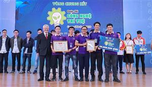 """19 đội tranh tài tại chung kết cuộc thi """"Công nghệ trí tuệ Canon Chie-Tech"""""""