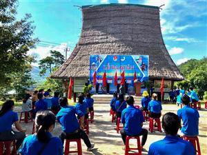 Tuổi trẻ Kon Tum tổ chức lễ ra quân Chiến dịch Thanh niên tình nguyện hè