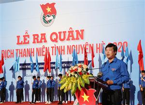 Trung ương Đoàn ra quân Chiến dịch Thanh niên tình nguyện hè năm 2020