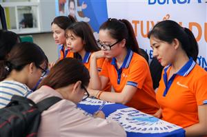 6.000 cơ hội việc làm cho sinh viên tại ngày hội việc làm ở ĐH HUTECH