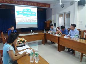 Hội Sinh viên Việt Nam tỉnh Khánh Hòa tổ chức Hội thi Thủ lĩnh Sinh viên cấp tỉnh, thành năm 2018 phần thi Bảo vệ Kế hoạch
