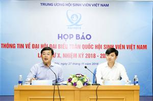 Chờ đón Đại hội X Hội Sinh viên Việt Nam