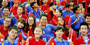 1.000 đại biểu thanh niên Trung Quốc dự Liên hoan thanh niên Việt Nam - Trung Quốc lần thứ III