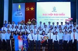 Đại hội Đại biểu Hội Sinh viên Việt Nam thành phố Cần Thơ lần thứ III, nhiệm kỳ 2018 – 2023