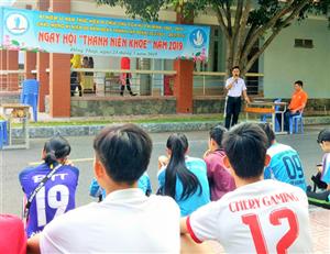 Ngày hội Thanh niên khỏe Hội Sinh viên Việt Nam trường Đại học Đồng Tháp