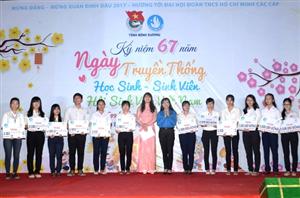 Bình Dương: Kỷ niệm 67 năm ngày truyền thống Học sinh – Sinh viên và Hội Sinh viên Việt Nam