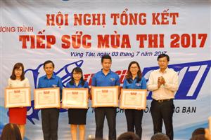 Tổng kết Chương trình Tiếp sức mùa thi năm 2017