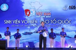 Triệu trái tim Sinh viên Việt Nam hướng về biển đảo Tổ quốc