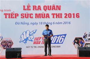 Lễ ra quân chương trình Tiếp sức mùa thi năm 2016