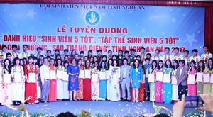 Nghệ An: Ngày Hội Sinh viên Việt Nam tỉnh Nghệ An chào mừng 67 năm ngày truyền thống HSSV và HSV Việt Nam (09/01/1950 – 09/01/2017).