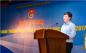 Hội nghị cán bộ Đoàn trường học toàn quốc năm học 2017 - 2018