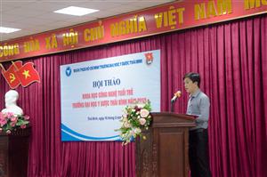 Hội Sinh viên trường Đại học Y Dược Thái Bình tổ chức Hội thảo khoa học Tuổi trẻ năm 2019