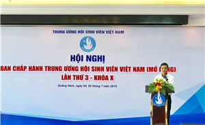 Hội nghị Ban Chấp hành Trung ương Hội Sinh viên Việt Nam (mở rộng) lần thứ 3