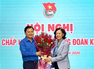 Đồng chí Nguyễn Anh Tuấn giữ chức Bí thư thứ nhất Trung ương Đoàn TNCS Hồ Chí Minh