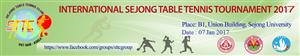 Giải bóng bàn sinh viên quốc tế Sejong tại Hàn Quốc chào mừng 67 năm ngày truyền thống Hội Sinh viên Việt Nam