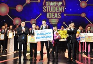 """Dự án """"Smart water"""" giành giải nhất Cuộc thi """"Start-up Student Ideas"""" lần thứ I"""