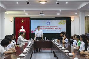 Trung ương Hội Sinh viên Việt Nam Gặp mặt cán bộ Hội sinh viên khó khăn, học tốt tại Bình Định