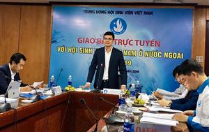 Trung ương Hội Sinh viên Việt Nam giao ban trực tuyến với các Hội SVVN ở nước ngoài