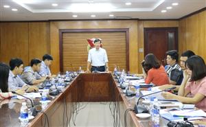 Phóng viên, nhà báo góp ý Văn kiện Đại hội Hội Sinh viên Việt Nam lần thứ X
