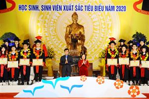 Hải Phòng: Tuyên dương học sinh, sinh viên xuất sắc tiêu biểu năm 2020