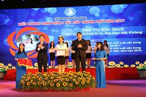 Hội Sinh viên Việt Nam Thành phố Hải Phòng tổ chức Lễ kỷ niệm 68 năm ngày truyền thống học sinh, sinh viên bà Hội Sinh viên Việt Nam.
