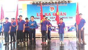 Hòa Bình: 250 bạn trẻ hưởng ứng Chương trình Tiếp sức mùa thi năm 2018