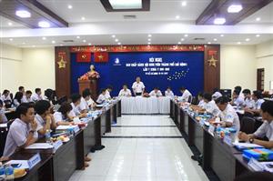 Hội nghị Ban Chấp hành Hội Sinh viên Thành phố (mở rộng) lần 7 khoá V (2015 - 2020)