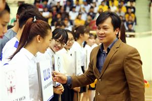 Khai mạc môn Bóng đá trong nhà, Giải Thể thao sinh viên Việt Nam năm học 2015 – 2016, khu vực Hà Nội