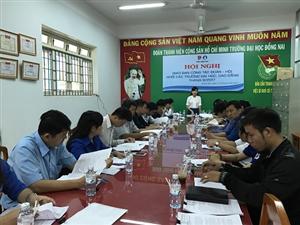 Đồng Nai: Hội nghị giao ban công tác Đoàn - Hội khối các trường Đại học, Cao đẳng tỉnh Đồng Nao năm học 2016 - 2017