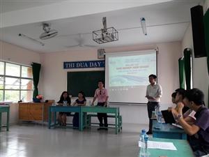 Lớp tập huấn Khởi nghiệp kinh doanh tại trường Đại học Đồng Tháp