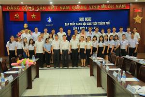 Đồng chí Nguyễn Việt Quế Sơn làm Chủ tịch Hội Sinh viên Việt Nam thành phố Hồ Chí Minh