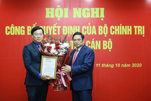Giới thiệu đồng chí Lê Quốc Phong để bầu làm Bí thư Tỉnh ủy Đồng Tháp