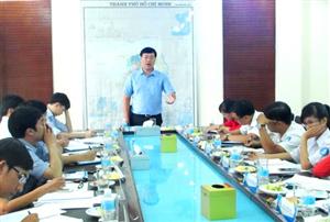 Trung ương Hội Sinh viên Việt Nam làm việc với Hội Sinh viên Việt Nam TP Hồ Chí Minh