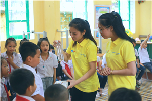 Lớp học Mizuiku do sinh viên tình nguyện Mùa hè xanh giảng dạy tại Thái Nguyên, Quảng Nam và Bến Tre
