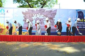 Lễ Khởi công Không gian truyền thống phong trào học sinh, sinh viên Sài Gòn - Gia Định, Thành phố Hồ Chí Minh tại trường Đại học Khoa học Tự nhiên ĐHQG Tp.HCM