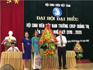 Đại hội Đại biểu Hội Sinh viên Việt Nam Trường CĐSP Quảng Trị lần thứ VIII, nhiệm kỳ 2018 - 2020