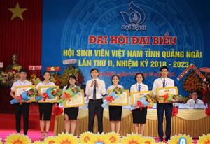 Đại hội đại biểu Hội Sinh viên Việt Nam tỉnh Quảng Ngãi lần thứ II