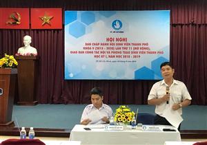 Hội nghị BCH Hội SVVN TPHCM lần thứ 11, giao ban công tác Hội và phong trào sinh viên TP học kỳ I, năm học 2018 - 2019