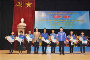 Kỷ niệm 67 năm ngày truyền thống học sinh, sinh viên Việt Nam và Hội Sinh viên Việt Nam