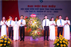 Đưa công tác Hội phong trào sinh viên tỉnh Thái Nguyên phát triển lên tầm cao mới