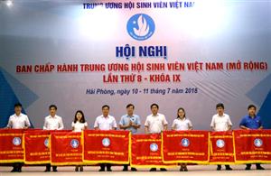 Bế mạc Hội nghị Ban Chấp hành Trung ương HSVVN (mở rộng) lần thứ 8, khóa IX