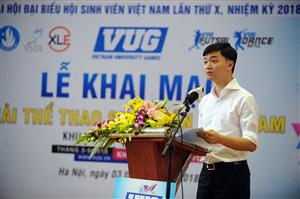 Khai mạc Giải Thể thao sinh viên Việt Nam năm học 2017 - 2018 khu vực Thành phố Hà Nội