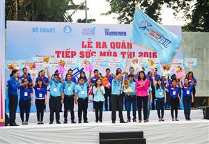 TP Hồ Chí Minh ra quân chương trình Tiếp sức mùa thi 2016