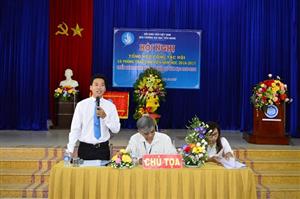Hội nghị tổng kết Công tác Hội và phong trào sinh viên trường Đại học Tiền Giang năm học 2016 – 2017