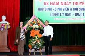 Hội Sinh viên Việt Nam trường Đại học Quảng Nam tổ chức Lễ kỉ niệm 86 năm ngày truyền thống học sinh, sinh viên và Hội Sinh viên Việt Nam
